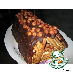 """Рецепт: Торт """"Творожный домик"""""""