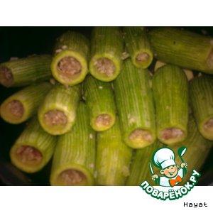 Рецепт: Фаршированные кабачки Куса михщи