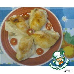 Рецепт: Курица с томатами черри