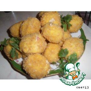 Рецепт: Сырные крокеты