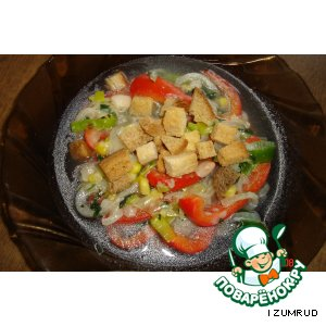 Рецепт: Суккоташ (овощное блюдо)