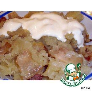 Рецепт: Белорусская картофельная бабка