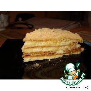 "Рецепт: Торт ""Медовик"""