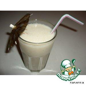 "Рецепт: Молочный коктейль ""Вкуснятина"""
