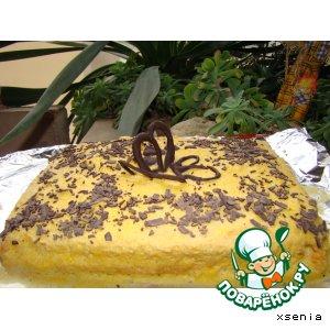 Апельсиновый торт  № 2