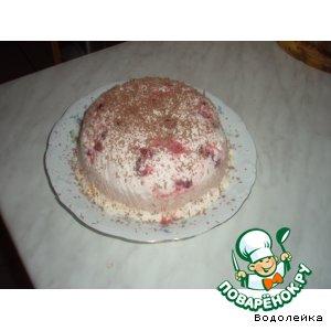 Рецепт: Слоеный сметанный десерт