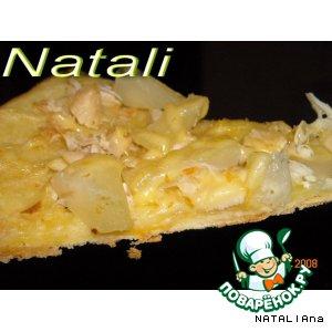Рецепт: Пицца Гаваи