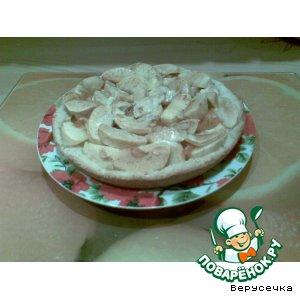 Рецепт: Голландский пирог с яблоками