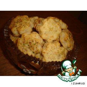 Рецепт: Печенье из брынзы