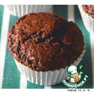 Рецепт: Шоколадно-кофейные кексы