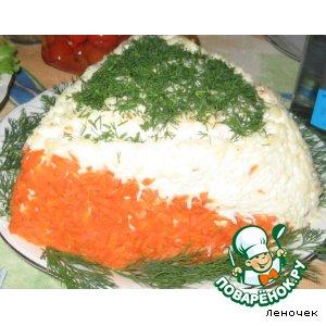 Рецепт: Салат для ориентировщика