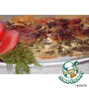Рецепт: Пирог со шпинатом (спанакопита)