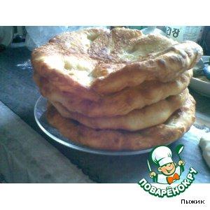 Рецепт: Казахские лепешки Жети нан