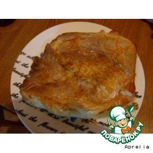Рецепт: Запеченное мясо с корейской морковкой
