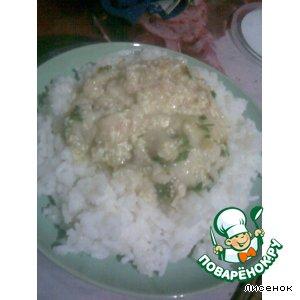 Рецепт: Соус из пангасиуса