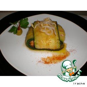 Рецепт Равиолли из кабачков с мясной начинкой