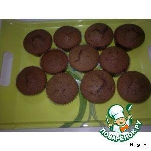Рецепт: Шоколадные  кексики