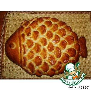 Рецепт: Пирог «Золотая рыбка»