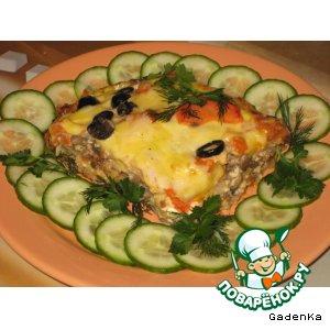 Рецепт: «Лазанья» капустная