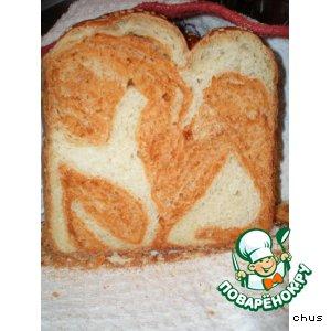 Рецепт: Тигровый хлебушек