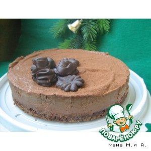 Сливочно-шоколадный чизкейк с Baileys