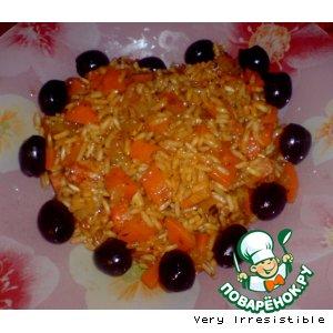 Рецепт: Коричневый рис Душистый