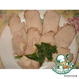 Рецепт: Свинина запеченная