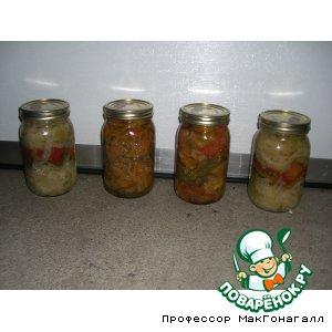 Сотэ из баклажанов и других овощей – кулинарный рецепт