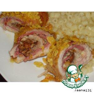 Рецепт: Курица в кукурузном кляре