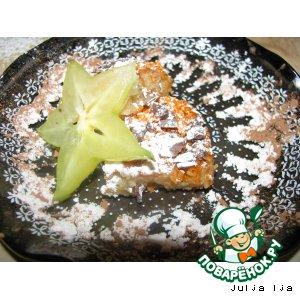 Рецепт: Пирожное Бананкокос