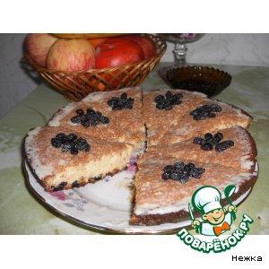 Рецепт: Пирог «Сладкоежка»