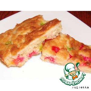Рецепт: Пирог к чаю Мармеладный