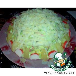 "Рецепт: Салат ""Подснежник"""