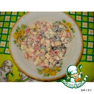 Рецепт: Салат «СветАфор»