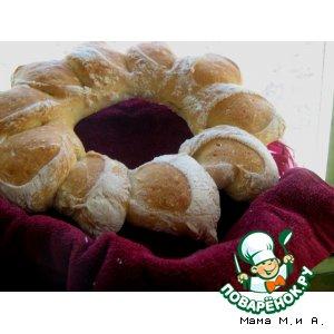Рецепт: Хлеб «Венок»