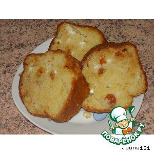 Рецепт: Сырный кекс