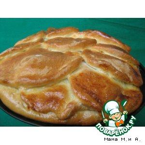 Рецепт: Пирог «Кочан капусты»