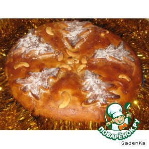 Рецепт: Пряник «Рождественский» с начинкой