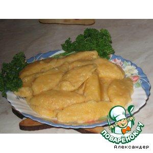 Рецепт: Ньeки из тыквы и картофеля