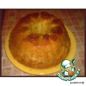 Рецепт: Мандариновый кекс