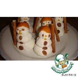 Творожные Снеговики