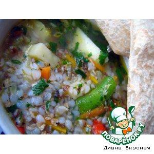 Рецепт: Гречиховый суп