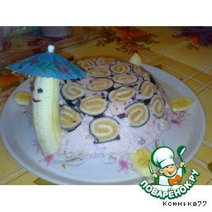 "Рецепт: Тортик ""Черепаха"""