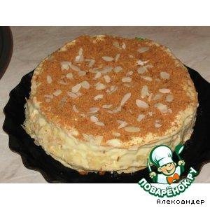 Рецепт: Торт Наполеон классический