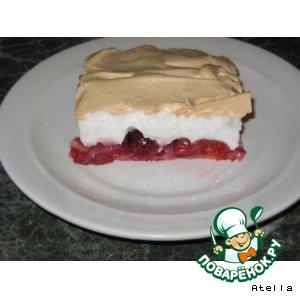 Рецепт: Пирог с вишней