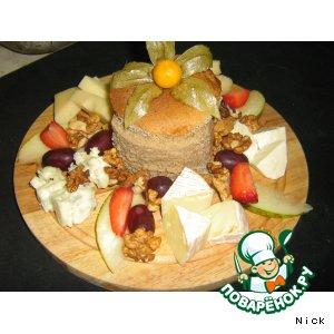 Рецепт: Сырная тарелка