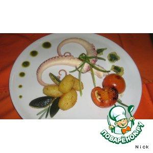 Рецепт: Щупальцы осьминога