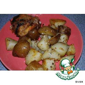 Рецепт: Картофель по-ирландски