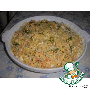 Рецепт: Салат Зимний