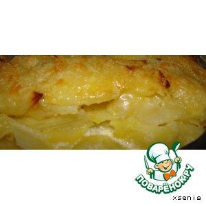 Рецепт: Гратан из картофеля